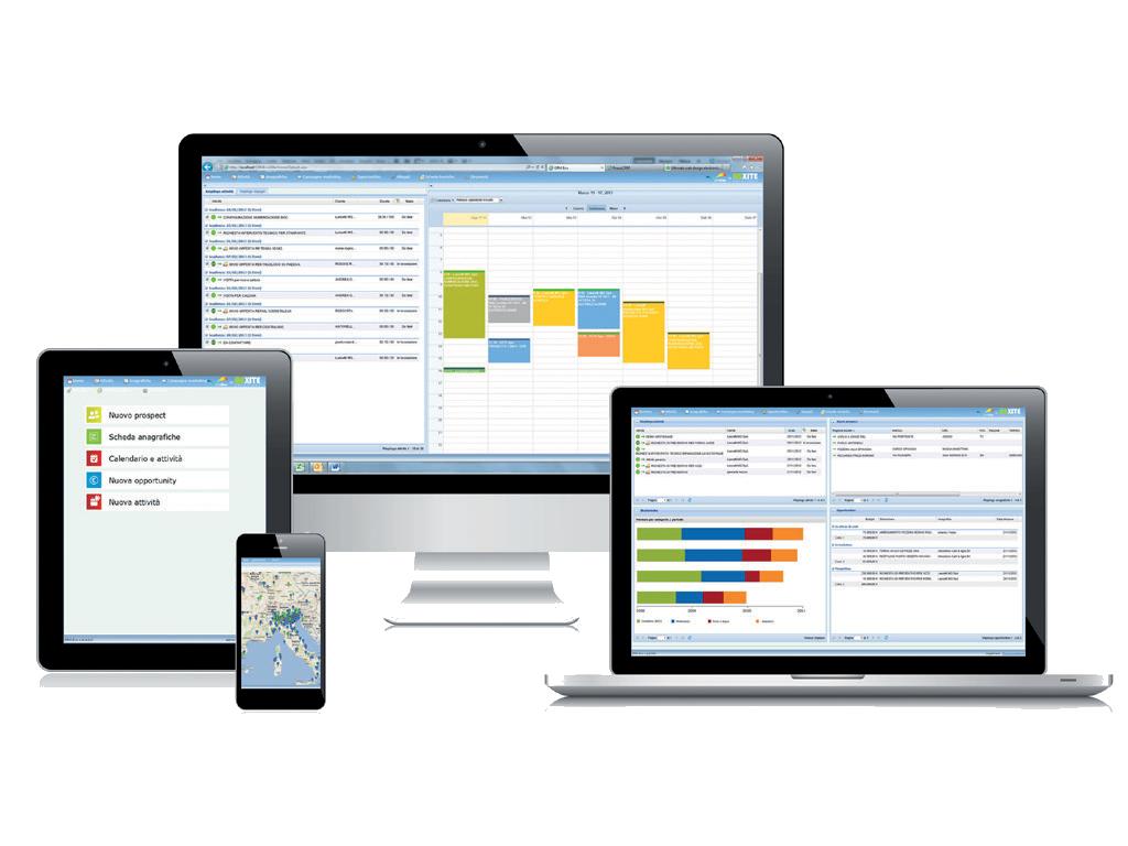 La soluzione facile ed innovativa per la gestione delle relazioni fra azienda e clienti attuali e futuri.